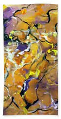 Praise Dance Hand Towel by Raymond Doward