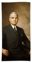 President Harry Truman Hand Towel