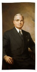 President Harry Truman Hand Towel