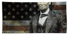 President Lincoln  Hand Towel by Gull G