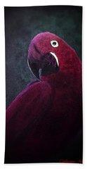 Pretty Bird Hand Towel