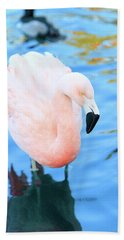 Pretty In Pink Hand Towel by Shoal Hollingsworth