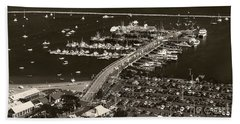 Bath Towel featuring the photograph Provincetown  by Raymond Earley