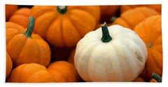 Pumpkins Hand Towel by Joseph Skompski