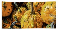Pumpkins With Warts Bath Towel