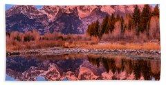 Purple Mountain Majesty Hand Towel