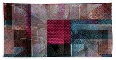 Quilt Hand Towel by Iris Gelbart