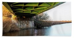 Railway Bridge Bath Towel