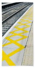 Railway Platform Bath Towel