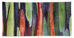 Rainbow Eucalyptus Hand Towel