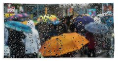 Hand Towel featuring the photograph Raining by Vladimir Kholostykh