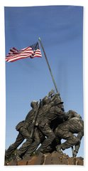 Raising The Flag On Iwo - 799 Hand Towel