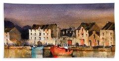 Ramelton Dusk, Donegal. Hand Towel