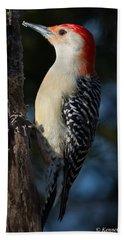Red-bellied Woodpecker 3a Hand Towel