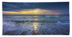 Redondo Beach Sunset Bath Towel
