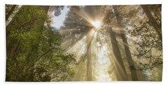 Redwoods Sunburst Bath Towel
