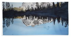 Reflection Lake Bath Towel
