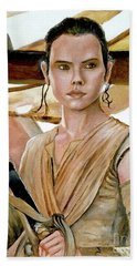 Rey Hand Towel by Tom Carlton