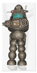 Robby The Robot Hand Towel