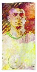 Ronaldo Bath Towel by Svelby Art