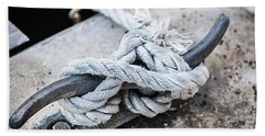 Rope On Cleat Bath Towel