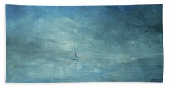 Bath Towel featuring the painting Sail Away by Jane See