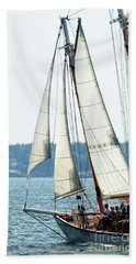 Sailing In Maine Hand Towel