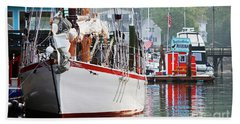 Sailing Vessel Hand Towel