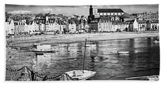 Hand Towel featuring the photograph Saint Servan Anse by Elf Evans
