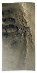 Bath Towel featuring the photograph Sandscape 1 by Newel Hunter