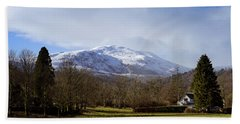 Bath Towel featuring the photograph Scottish Scenery by Jeremy Lavender Photography