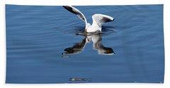 Seagull Fishing Hand Towel
