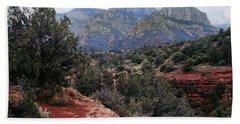 Sedona Arizona Mountains Hand Towel