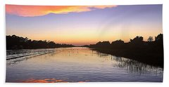 September Sunset Bath Towel