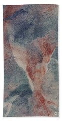 Bath Towel featuring the mixed media Ser.1 #10 by Writermore Arts