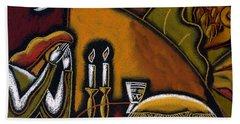 Shabbat Shalom Hand Towel