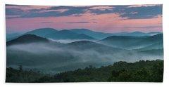 Shenandoah Sunrise Hand Towel by Kevin Blackburn