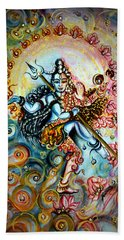 Shiva Shakti Bath Towel by Harsh Malik