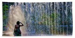 Bath Towel featuring the photograph Should I? by Rhonda McDougall