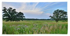 Silver Creek Conservation Area Sunset Hand Towel