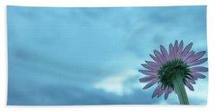 Single Garden Flower Hand Towel