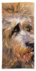 Sir Darby Hand Towel by Judith Levins