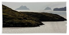 Skellig Islands, County Kerry, Ireland Hand Towel