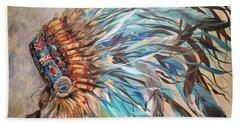 Sky Feather Hand Towel