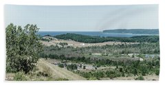 Bath Towel featuring the photograph Sleeping Bear Dunes National Lakeshore by Alexey Stiop