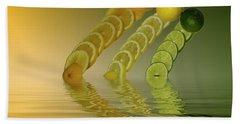 Bath Towel featuring the photograph Slices  Grapefruit Lemon Lime Citrus Fruit by David French