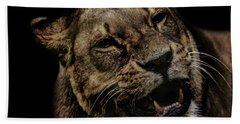 Orangutan Smile Hand Towel by Martin Newman