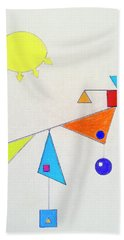 Something New Under The Sun Hand Towel