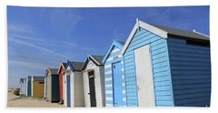 Southwold Beach Huts Hand Towel