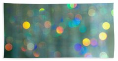 Hand Towel featuring the photograph Sparkle by Kathy Bassett